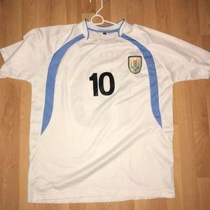 Other - Men's Uruguay Soccer Jersey NWOT